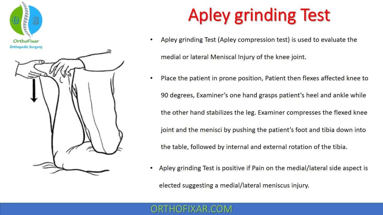 Apley grinding Test