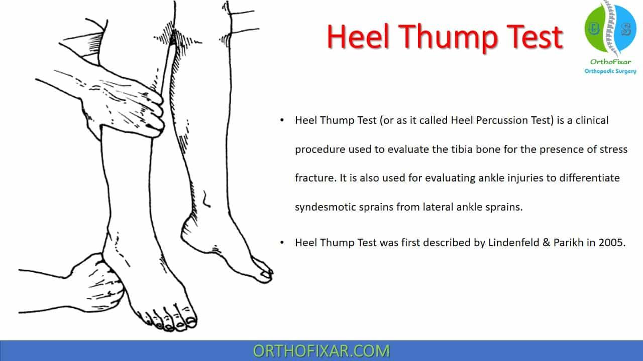 Heel Thump Test