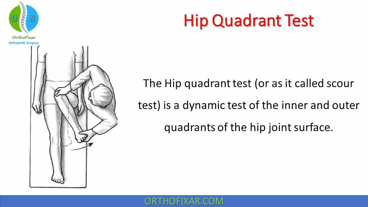 Hip Quadrant Test