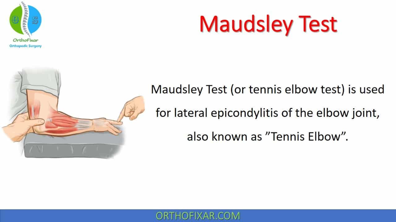Maudsley Test