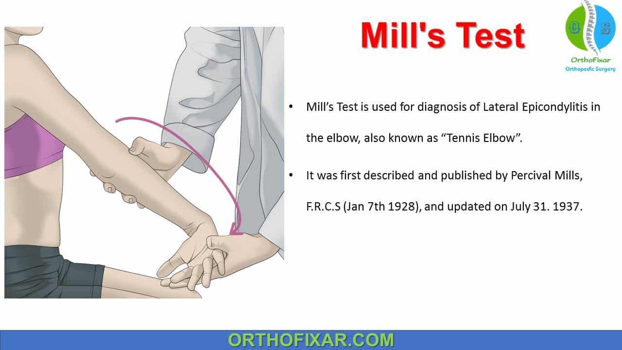 Mill's Test
