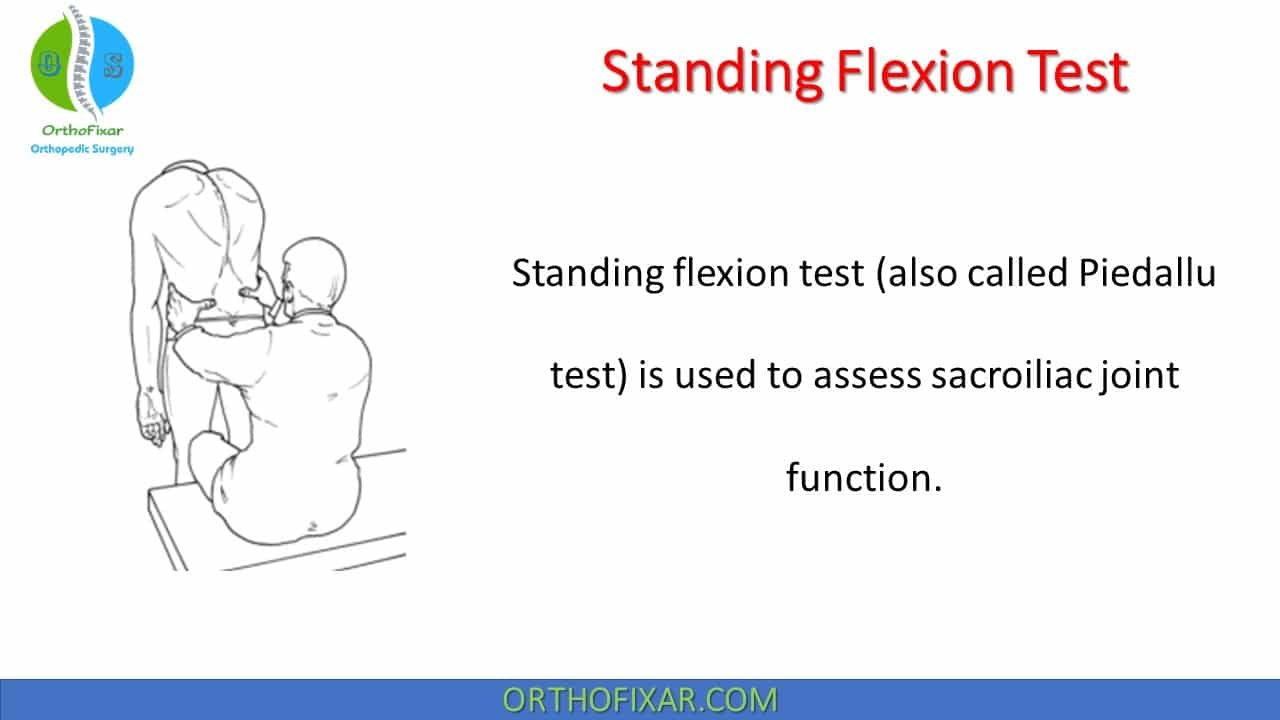 Standing Flexion Test